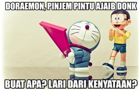 gambar kata kata galau nobita yang mengena di hati