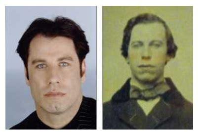 illuminati personaggi famosi 生まれ変わりを信じる ハリウッドスターのジョン トラボルタの 前世写真 がオークションに出品されていた