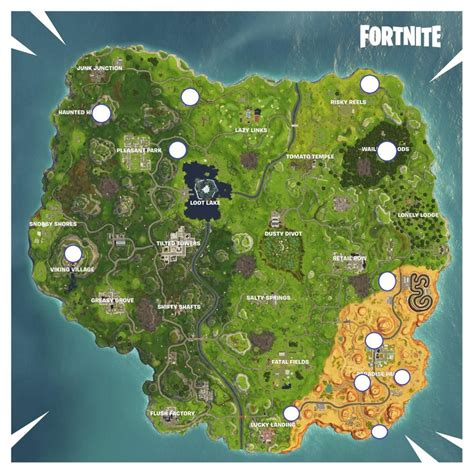 updated rift locations  fortnite battle royale