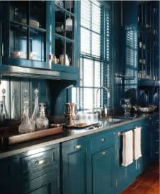 Teal Kitchen Cabinets revive design