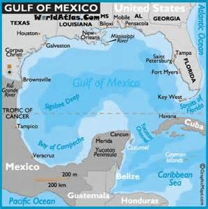 gulf of mexico florida beaches map understanding manzanillos waters part 1 of 2