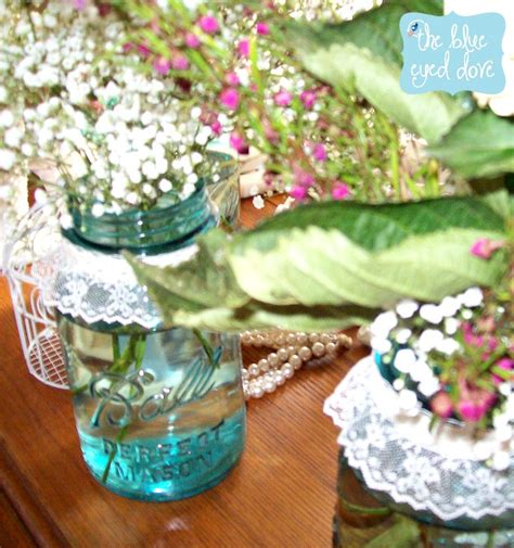Shabby Chic Baby Shower Centerpieces by A Shabby Chic Bridal Shower Part 1 The Blue Eyed Dove