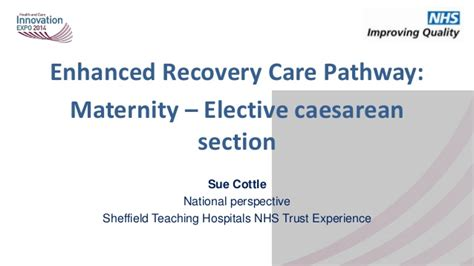 elective c section recovery enhanced recovery care pathways