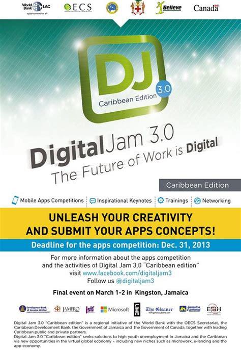 Jam Iphone Digital digital jam 3 0 caribbean app competition geezam