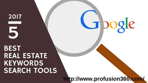 Best Search Tool 5 Best Real Estate Keywords Search Tools In 2017 Profusion360