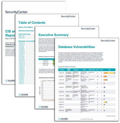 Cis Report Template Cis And Disa Sql Server Auditing Sc Report Template