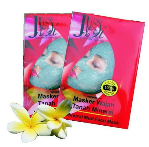 Masker Wajah Silver produk jdi masker wajah tanah mineral