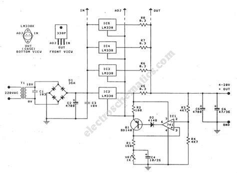 power supply integrated circuits integrated circuit schematics get free image about wiring diagram