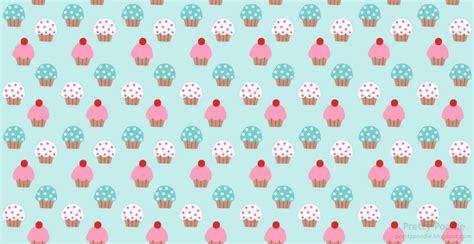 hd cupcake pattern cute cupcake background wallpapersafari