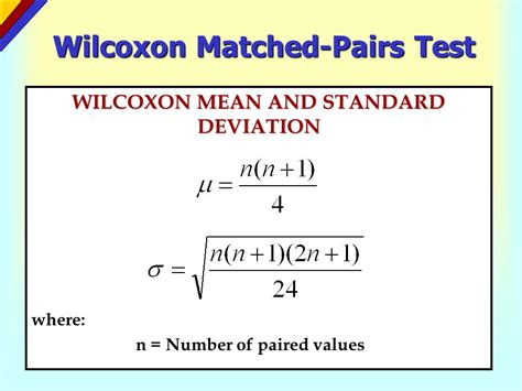 wilcoxon test introduction to nonparametric statistics ppt