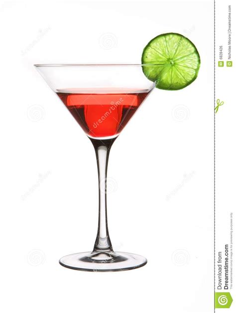 martini red red martini with a lime stock photo image of martini