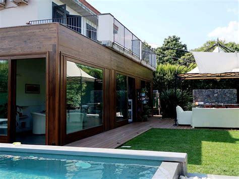 tettoie in legno chiuse excellent larghezza altezza e profondit della struttura