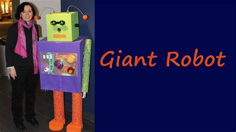 make a bid make a size robot from cardboard