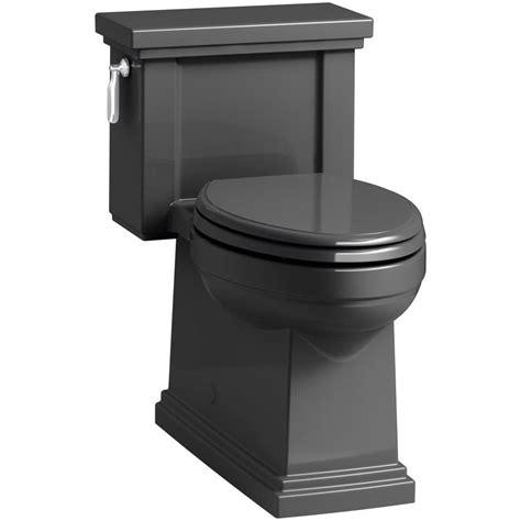 black toilet shop kohler tresham 1 28 gpf 4 85 lpf black compact