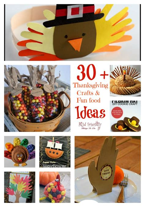 food crafts ideas 30 thanksgiving crafts food crafts for a kid