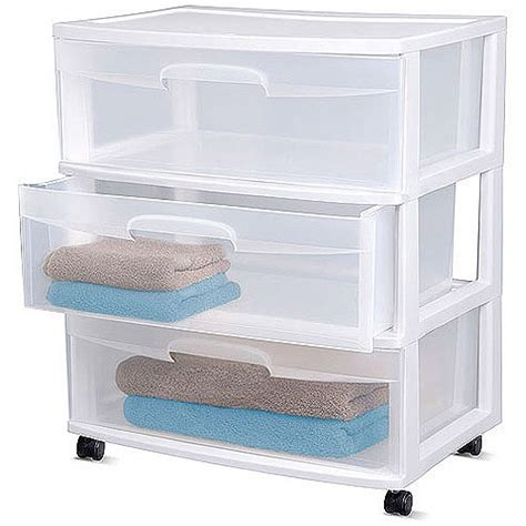 sterilite 3 drawer wide cart dimensions sterilite 3 drawer wide cart white shoptv