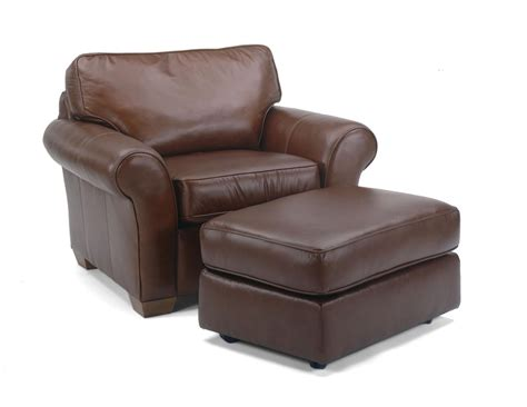 Leather Chair And Ottoman Chair And Ottoman Plymouth Furniture