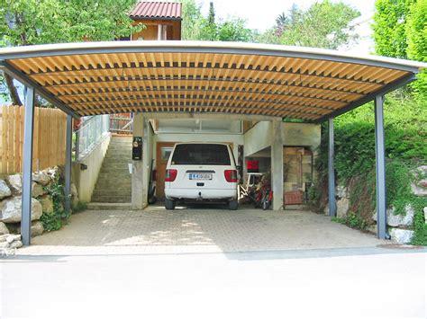 Tonnendach Carport My