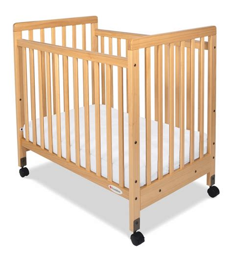 Foundations Mini Crib Foundations Safetycraft Compact Crib Slatted Ends