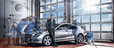Werkstatt Mercedes by Kundendienst Bremse Wartung Mercedes Junge Sterne