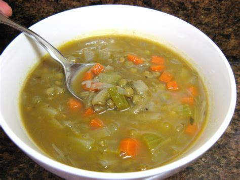 the well fed newlyweds lentil vegetable soup