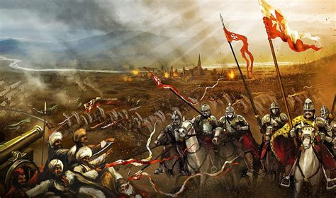 Ottoman Siege Of Vienna The Battle Of Vienna 1683 By Devjohnson Deviantart On Deviantart Historia Polski
