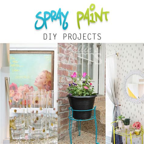 diy spray paint projects spray paint diy projects the cottage market