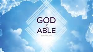 God is able ephesians 3 20 on vimeo