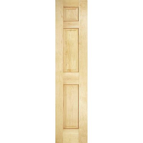 Masonite 18 In X 80 In Smooth 6 Panel Solid Core 18 Closet Door