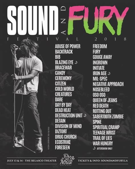 Sound And Fury sound and fury 2018 photo set 1 nosebleed spine
