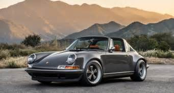 classic porsche carrera porsche 911 targa with the singer touch is a west coast