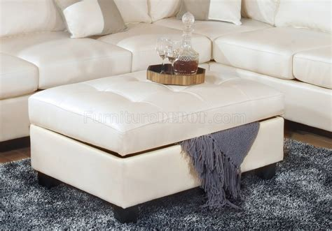 modern white leather ottoman leather sofa with ottoman if you had to do it over would a