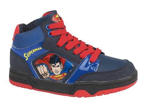 superman shoes for boys superman trainers velcro shoes hi tops