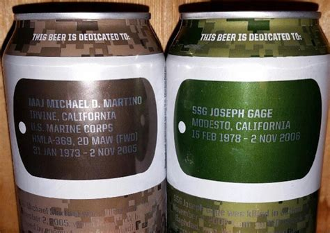 tag brewing tag brewing marine owned company honors troops