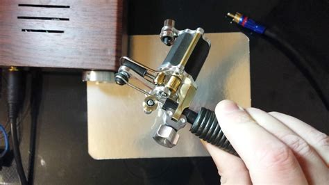 tattoo machine keeps stopping rotary tattoo machine hand made custom youtube