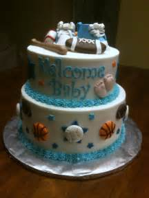 Sports Baby Shower Cakes by Baby Shower Cakes Sports Theme Baby Shower
