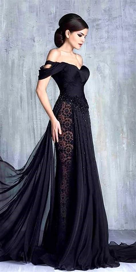 Black Dress For Wedding by 27 Beautiful Black Wedding Dresses That Will Strike Your