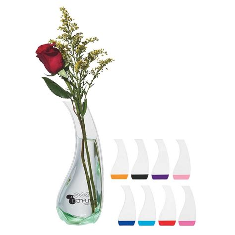 customized foldable curve flower vase promotional vases