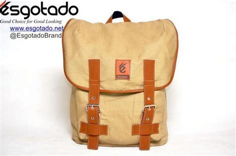Produk Terbaik Tas Ransel Backpack Vintage 710023 Warna Coklat Sporcas tas ransel vintage keren bag esgotado fintagio segundo