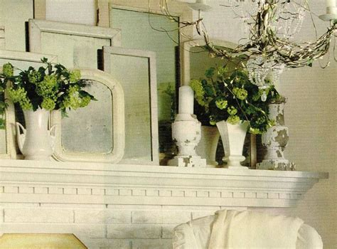 quot shabby chic quot mantel decor shabby chic pinterest