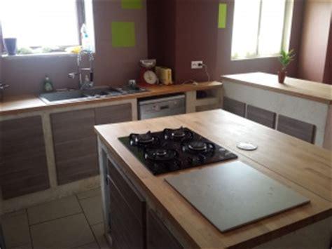 Construire Une Cuisine D été 2736 by Construction Cuisine En Beton Cellulaire 10 Messages