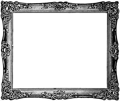 vintage clip art french label anchor round frame vgosn vintage frame image rectangle graphics