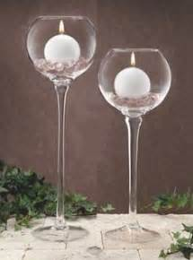 Stemmed Hurricane Vases Glass And Candles On Pinterest Candles Vases And