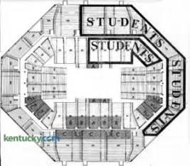 Rupp Arena Floor Plan by University Of Kentucky Basketball Kentucky Photo Archive