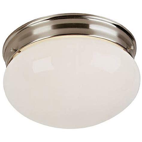 Brushed Steel Ceiling Lights Brushed Steel 9 Quot Wide Ceiling Light Fixture 45787 Ls Plus