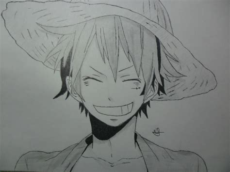 D Sketches by Monkey D Luffy Drawing By Nilsonpre On Deviantart