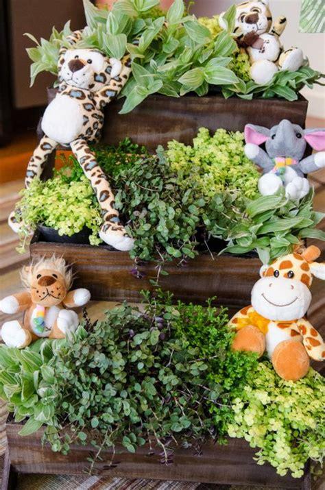 jungle theme baby shower decorations ideas kara s ideas safari jungle themed birthday via