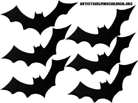 printable bat templates teen halloween bedroom and free bat template halloween