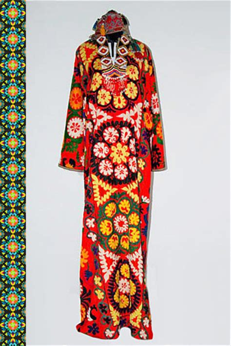 uzbek traditional dress women traditional uzbek clothes