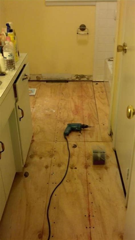 bathroom subfloor replacement 1000 images about replace bathroom subfloor on pinterest